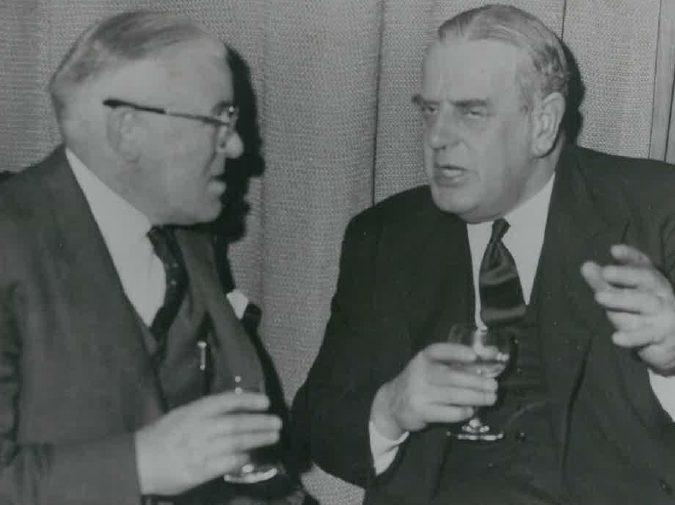 Arthur Soar and Clive German