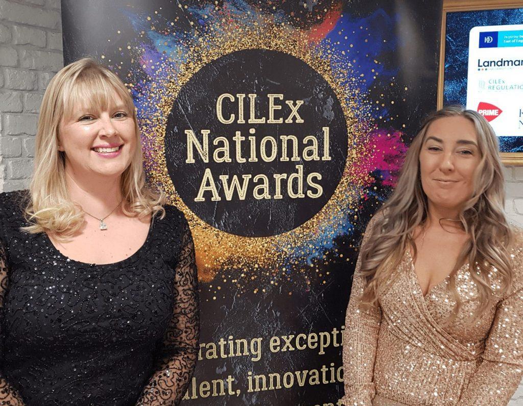 ROTHERAS cilex award finalists